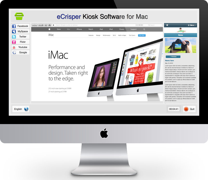 Kiosk Software for Mac