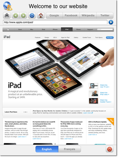 Kiosk Software for iPad